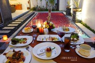 [峇里島] Lumbini Villa誇張美的花瓣泳池與浪漫燭光晚餐