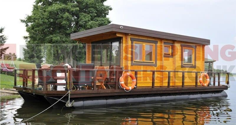 Coodo Haus Shipping Container Pontoons