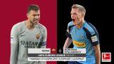 Bundesliga Roma Vs Borussia Mönchengladbach Uefa Europa League Confirmed Line Ups Match