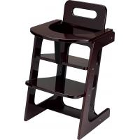 High Back Adjustable Baby Chair -Wooden Restaurant Baby ...
