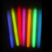 Popular Images of Glow Earrings slim 8 inch glow sticks