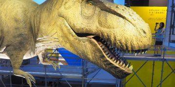 <台北展覽> DINOLAB恐龍實驗室-復活任務,展場就是劇場概念導入,讓恐龍展互動樂趣多多!(科教館展覽/台北恐龍展/士林科教館/試遊體驗)