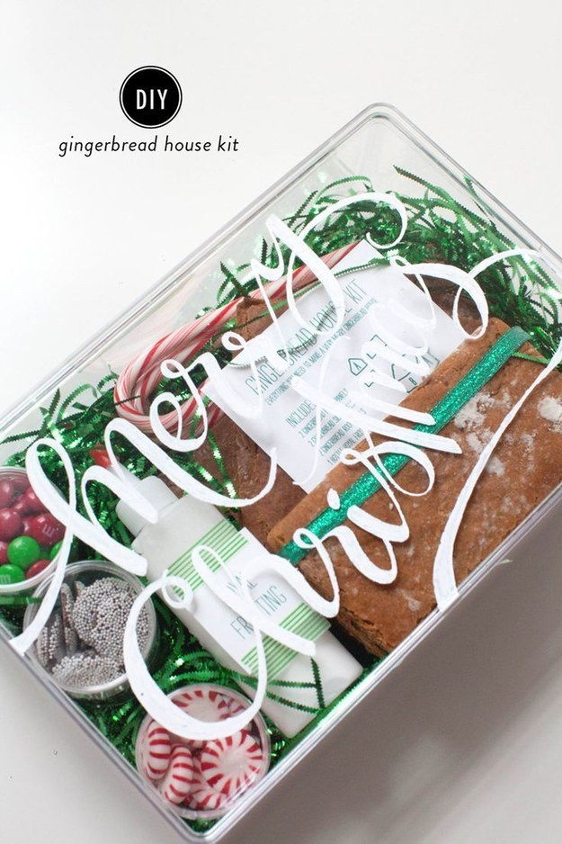 A Gingerbread House Kit