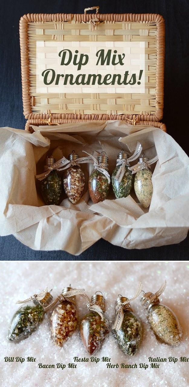 Dip Mix Ornament Set