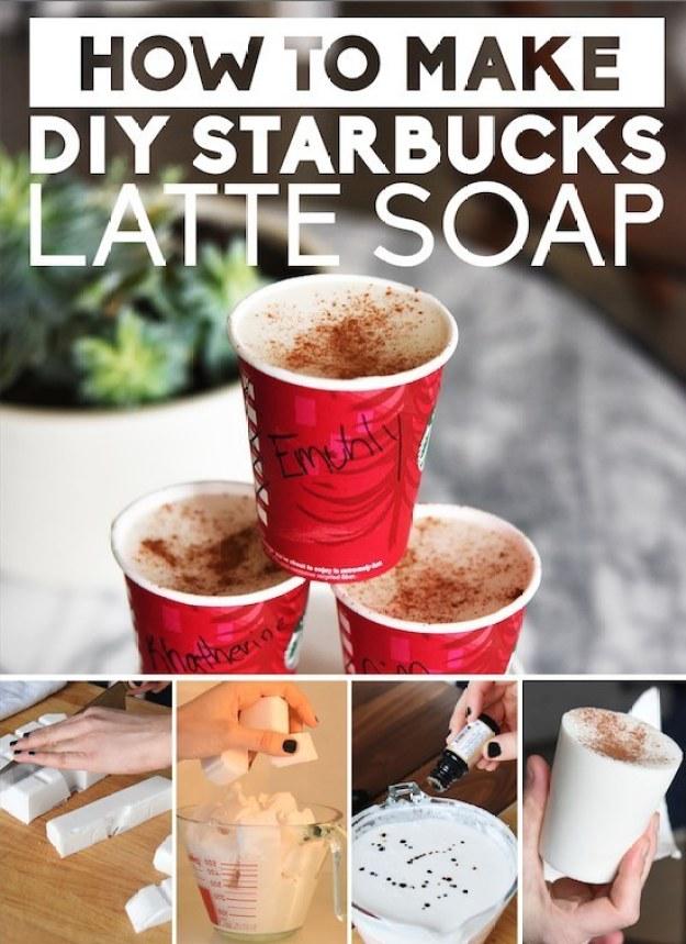 Starbucks Latte Soap