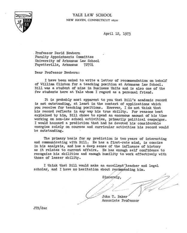 law school admission letter of recommendation sample