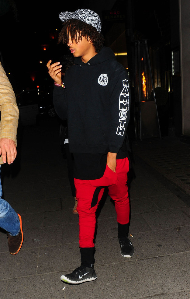 Does Jaden Smith Really Have Only One Pair Of Shoes An