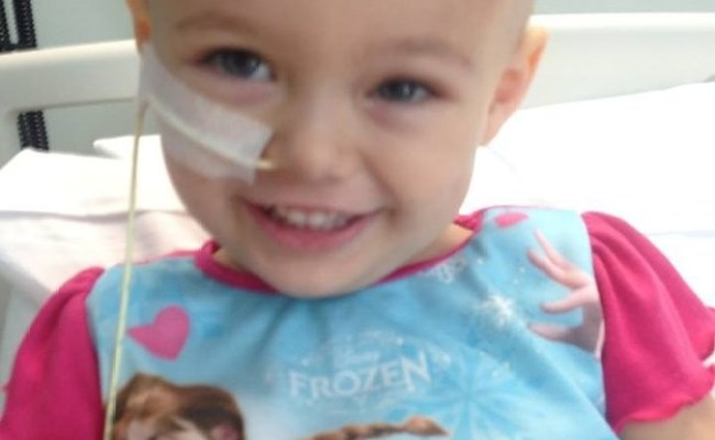 A 3 Year Old Girl With Cancer Sang Let It Go From Her