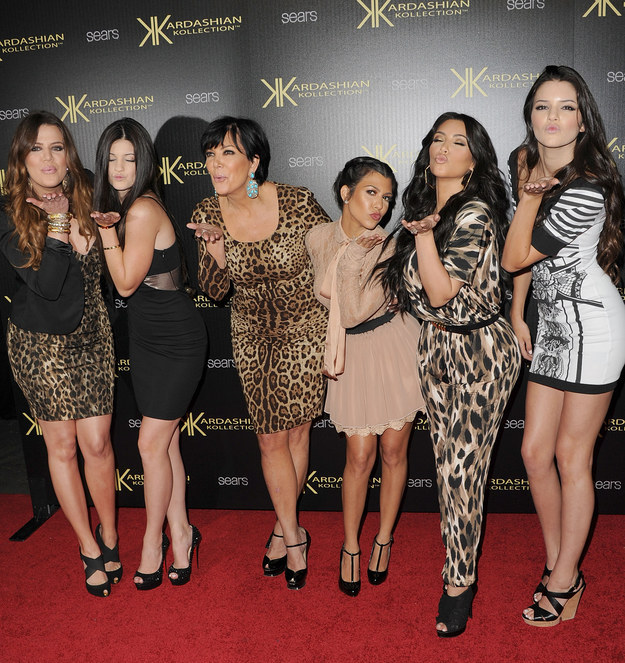 The Kardashians...really loved leopard print. Couture!