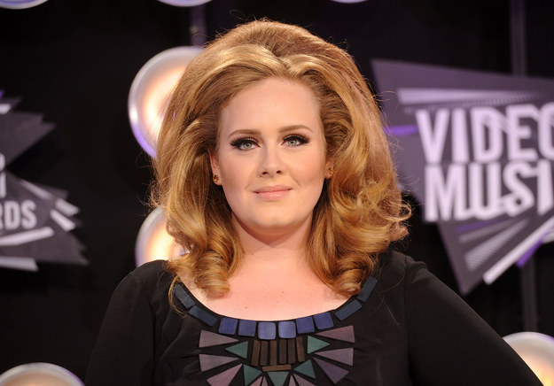 Adele's hair. That's all.