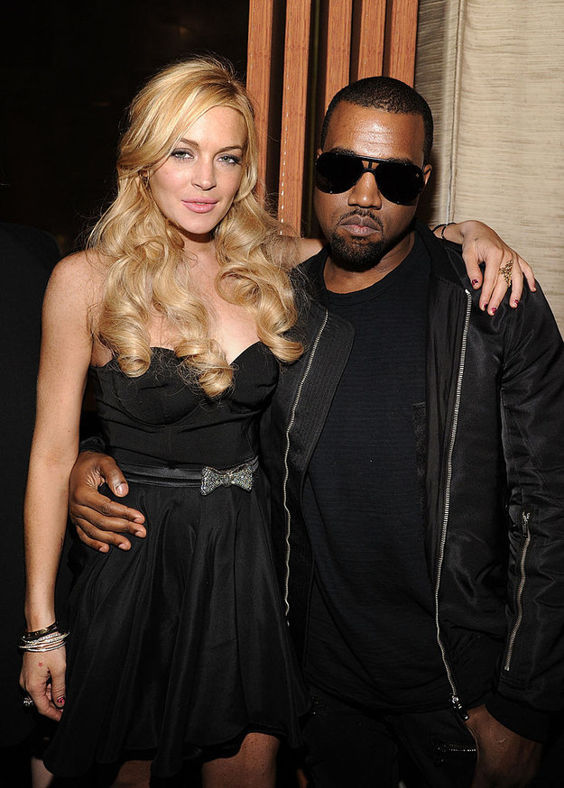 Oh yeah, he's hanging out with Lindsay Lohan. LOL.