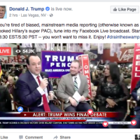 Facebook Is Advising Trump Campaign On Trump TV