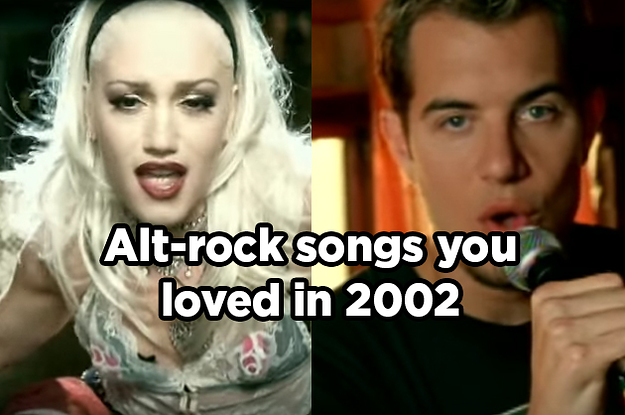 19 Alt-Rock Songs You Loved In 2002