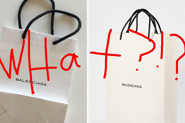 A Designer Is Selling A Fake Paper Bag For $1,100 Because Of Course