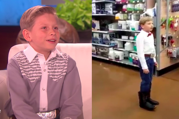 The Walmart Yodeling Kid Everyone Is In Love With Said That He\u0027s