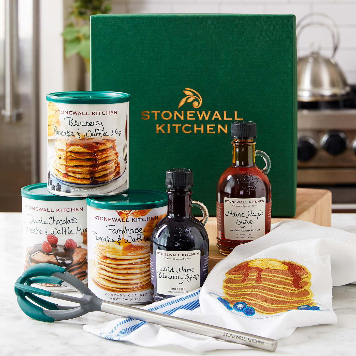 Stonewall Kitchen Farmhouse Pancake & Waffle Mix 36 Gifts For The Whole Family