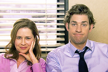 Cute Love Couple Wallpaper For Whatsapp The Best Jim And Pam Moments From Quot The Office Quot So Far