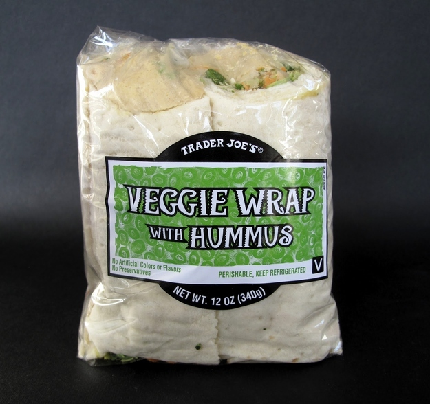 The vegan option at a restaurant is ALWAYS a wrap.