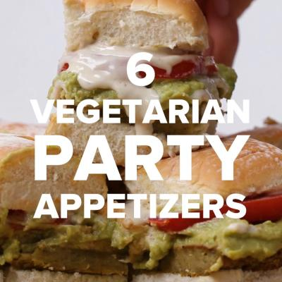 6 Vegetarian Party Appetizers | Recipes