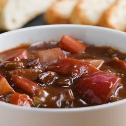Sturdy Pork Hearty Vegetable Stew Recipe By Tasty Soup Vs Stew Reddit Soup Or Stew