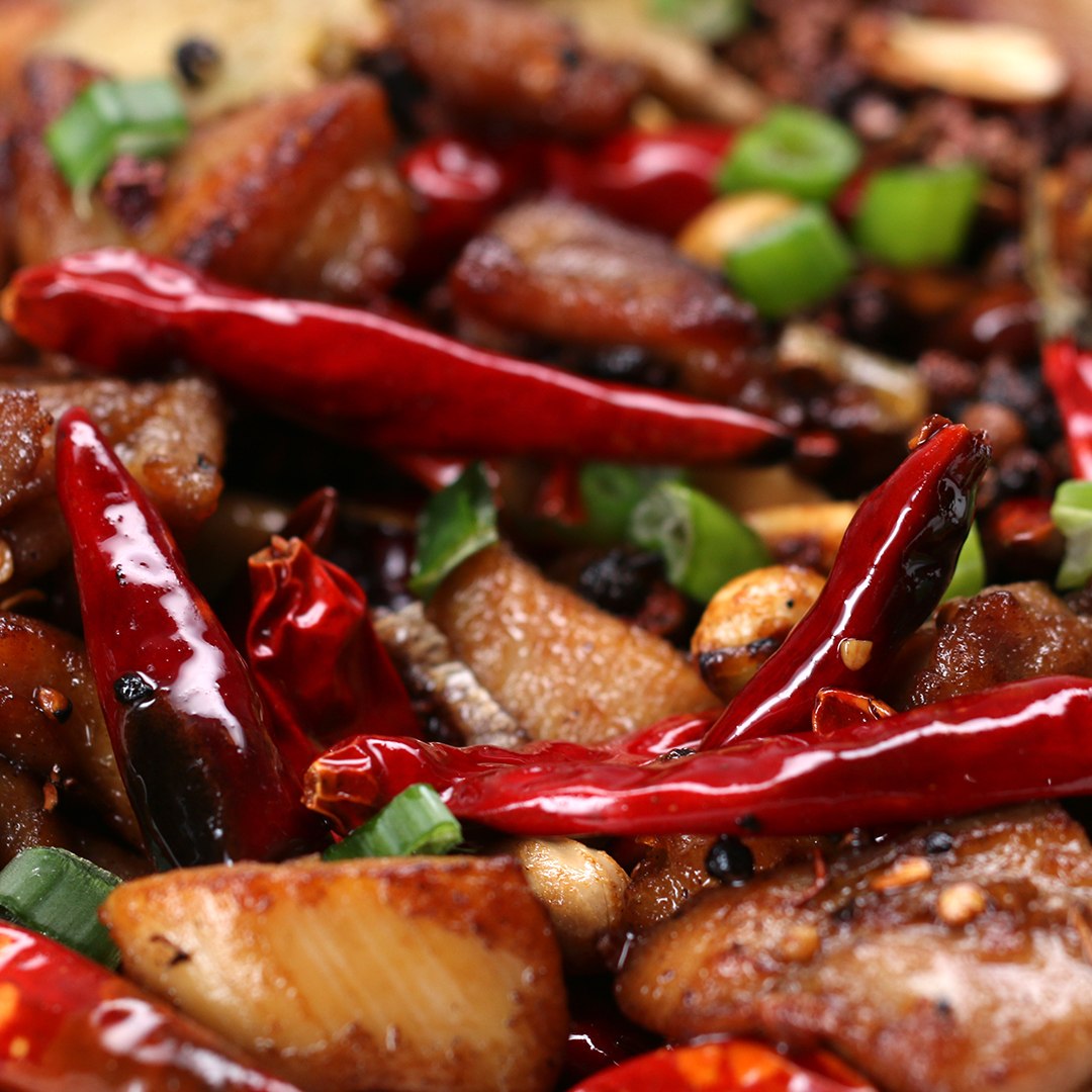 Fullsize Of Szechuan Chicken Recipe