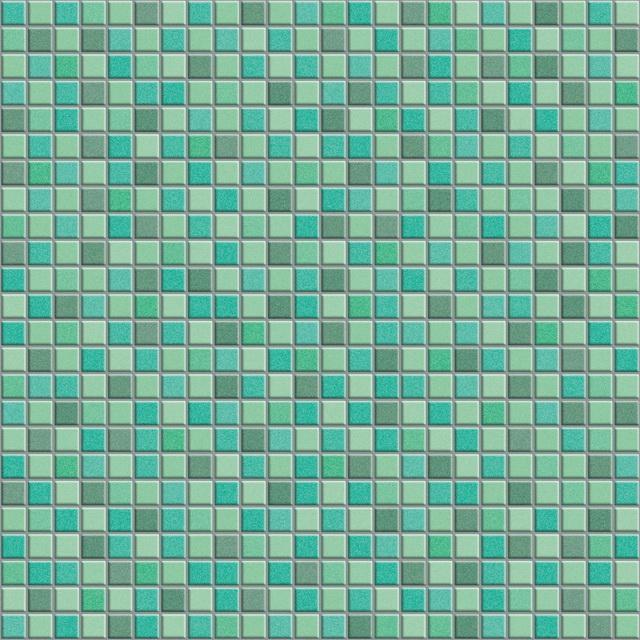 Mixed green floor mosaic texture - Image 5891 on CadNav