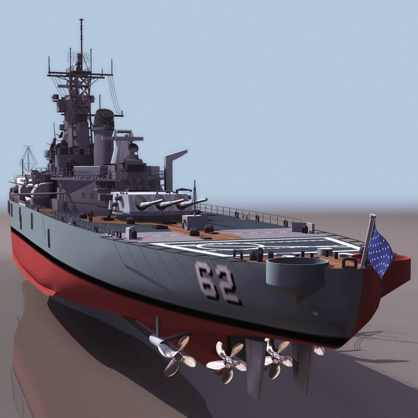 3d Wallpaper Making Software Free Download Uss New Jersey Battleship 3d Model 3ds Files Free Download