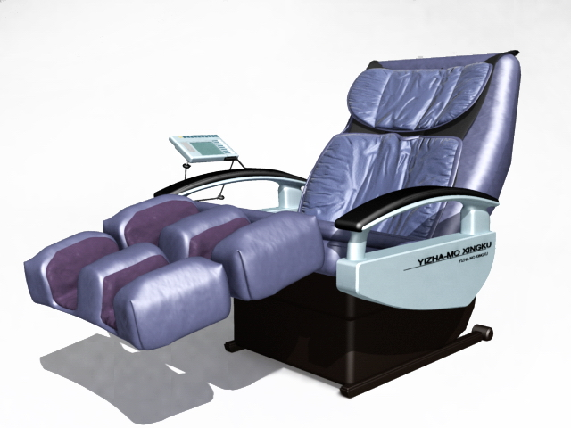 Electric massage chair 3d model 3ds max files free download