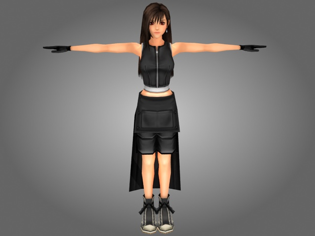 Free 3d Models Fantasy Japanese Girl 3d Model 3ds Max Files Free Download