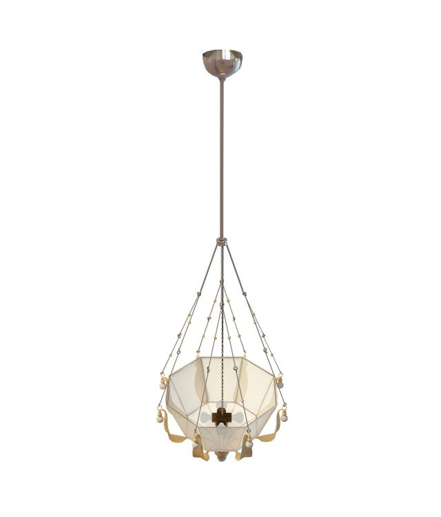 Pendant decorative hanging lamp 3d model 3ds max files