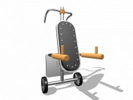 Exercise Stepper 3d Model Free Download Cadnavcom