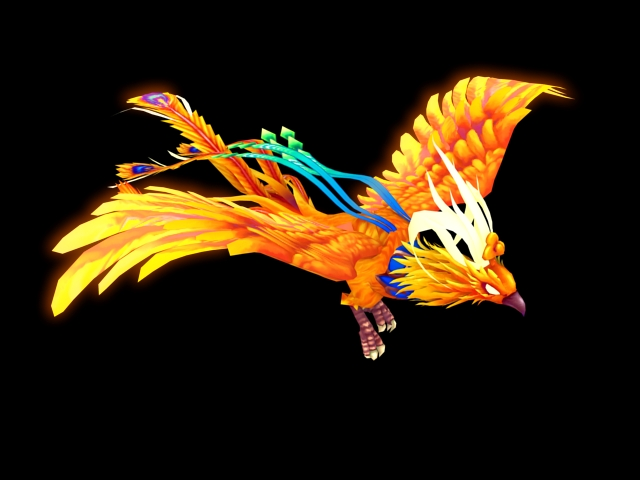 Animated Running Horse Wallpaper Animated Phoenix 3d Model 3ds Max Files Free Download