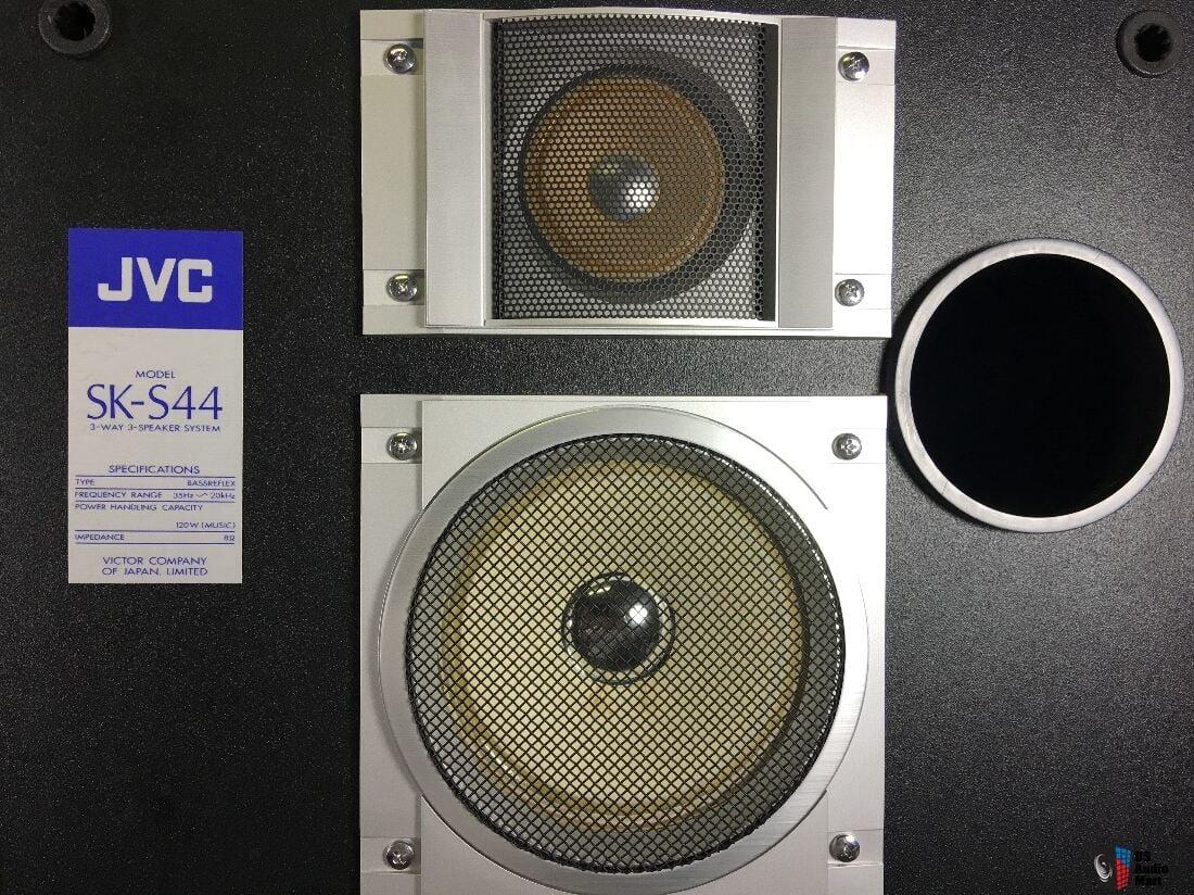 Jvc Sk S44 Speakers One Needs S Sub Photo 1225649