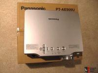 Panasonic PT-AE900U projector w/extra lamp Photo #397037 ...