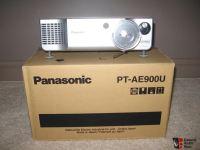 Panasonic PT-AE900U projector w/extra new lamp Photo ...