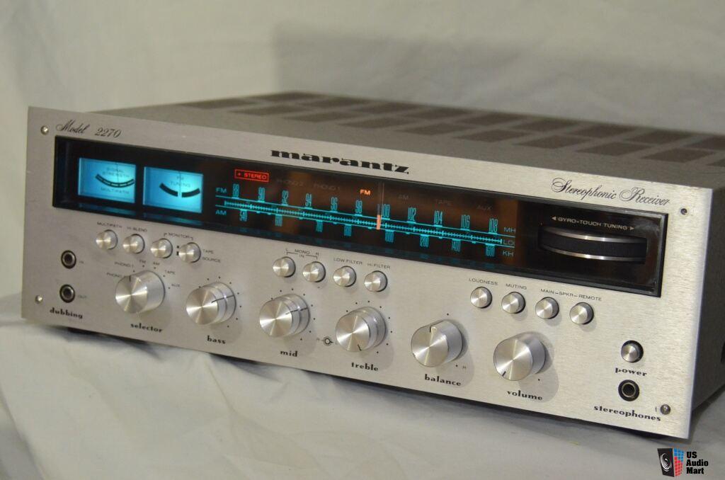 Vintage Marantz 2270 stereo receiver_Very good_New fuse