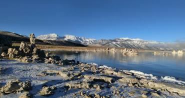 ▌美西自駕景點 ▌人間仙境Mono Lake。體驗零下17度腳快截肢的美景