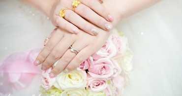 ▌My Wedding ▌超浪漫夢幻新娘造型光療指甲。結婚宴客光療指甲款式推薦