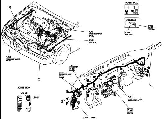 1993 ford probe gt engine diagram