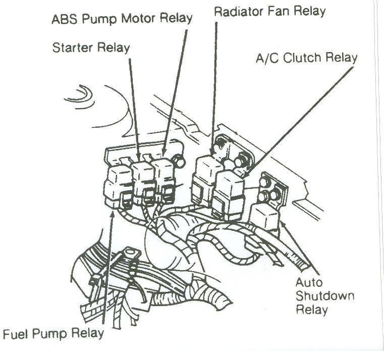 94 plymouth acclaim wiring diagram schematic