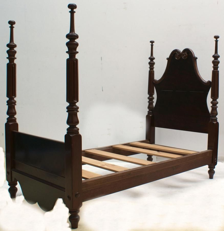 Single Four Poster Bed An Australian Cedar Four Poster Single Bed Circa 1860 With