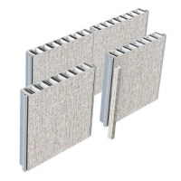 Aluminum Honeycomb Wall Panel of shipoutfitting