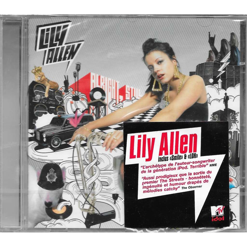 Cd Dvd Regal Alright, Still By Lily Allen, Cd With Louviers - Ref:118899957