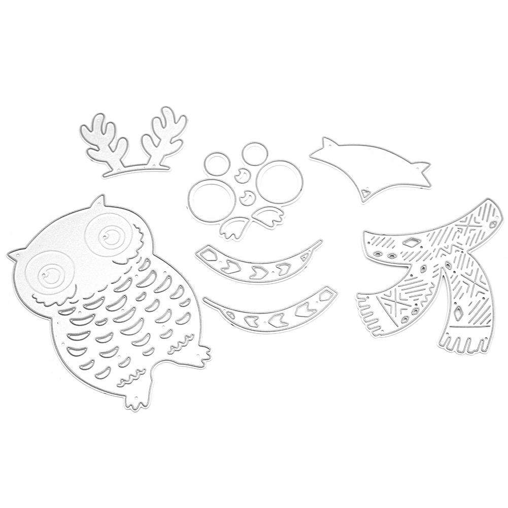 Gespenst Schablone Fat Bird Cutting Die Stencil Diy Scrapbooking Paper Card Craft Embossing