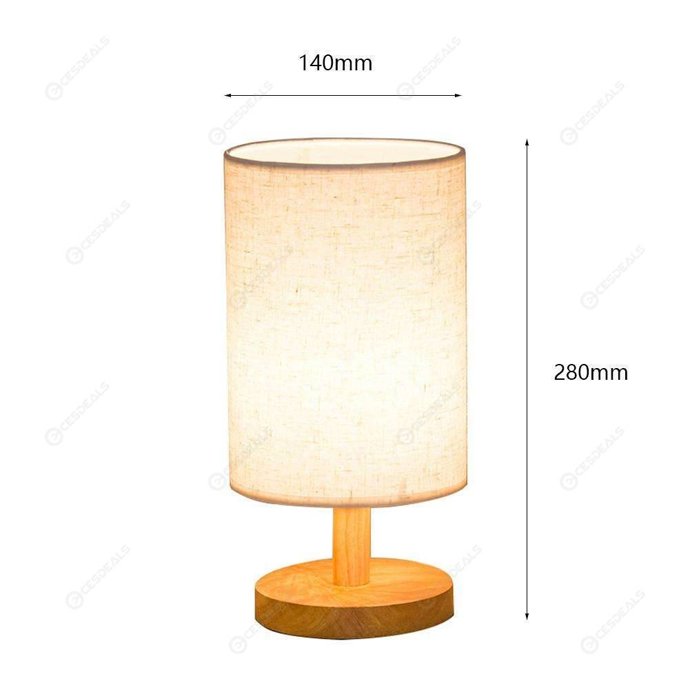 Nachttischleuchte Kugel Touch E27 Modern Vintage Lamp Shade Table Desk Bed Light Cover Holder Lampshades