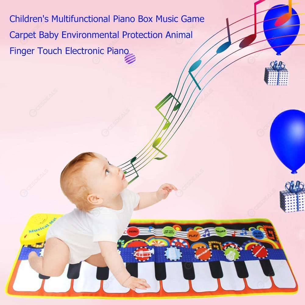How To Play Newborn On Piano Newborn Baby Music Carpet Kids Piano Musical Touch Educational Play Mats