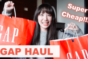 50% OFF January GAP Haul 2016 | 無敵便宜GAP冬季戰利品!