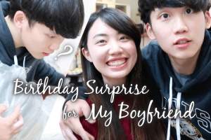 給男友的生日驚喜!|Birthday Surprise for My Boyfriend!!