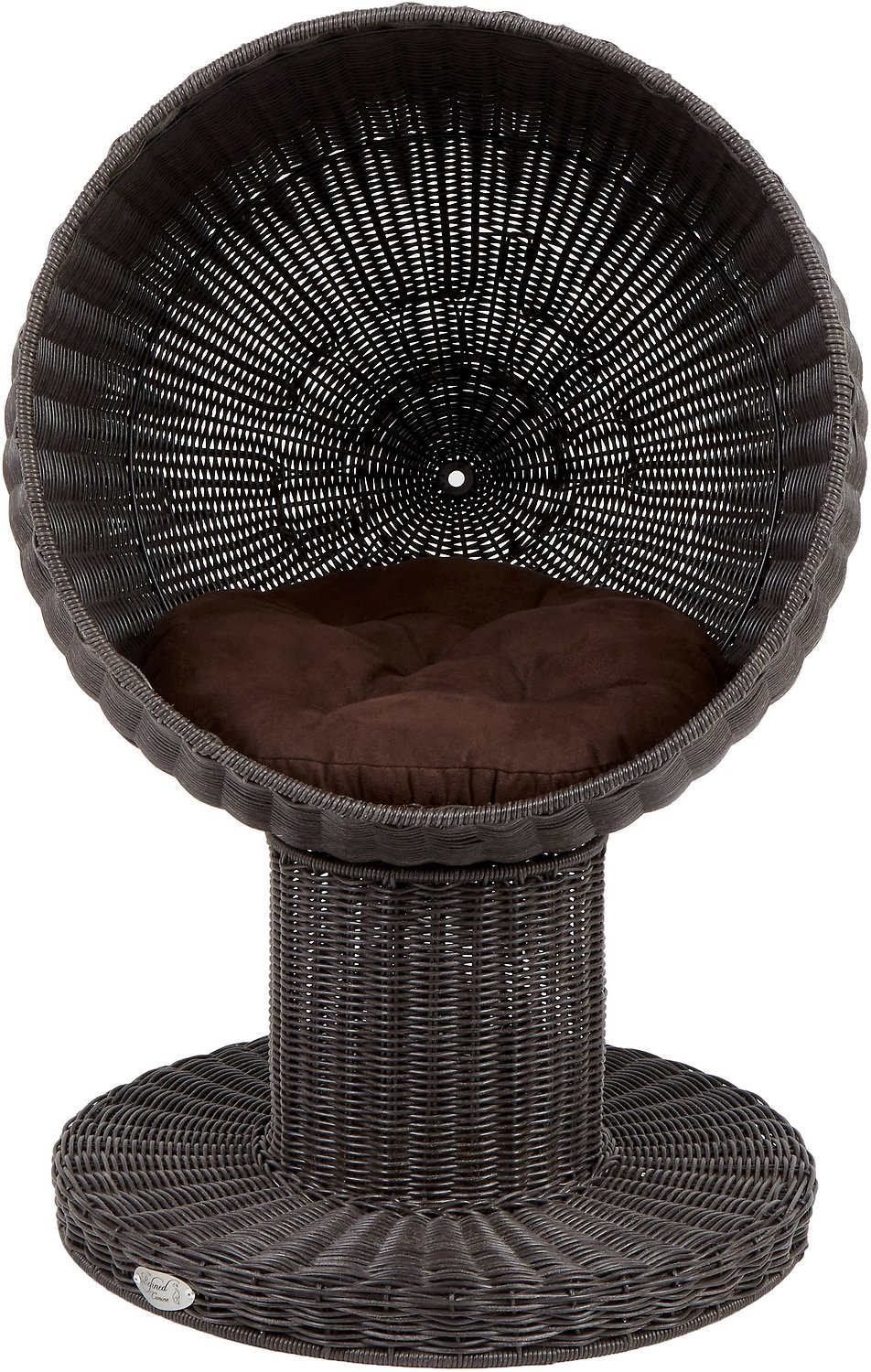 Cat Furniture For Sale The Refined Feline Kitty Ball Cat Bed Espresso Chewy