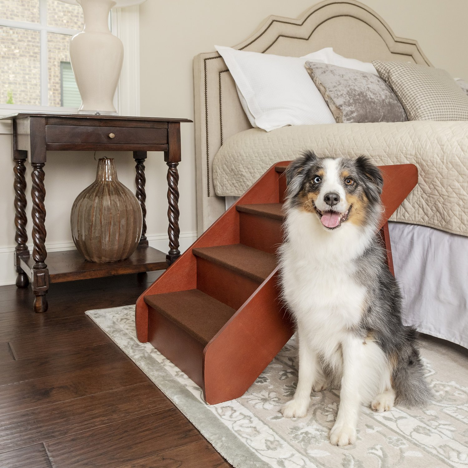 Solvit Pupstep Wood Pet Stairs X Large Chewycom